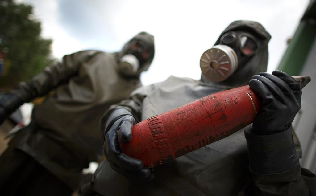 Global chemical weapons stockpile '90% destroyed'