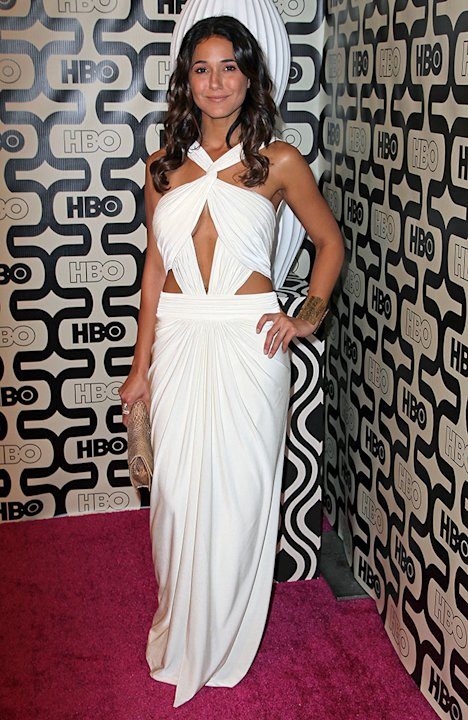 HBO's Official Golden Globe Awards After Party - Red Carpet: Emmanuelle Chriqui