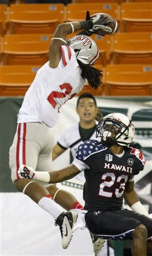 Hawaii defeats UNLV 48-10
