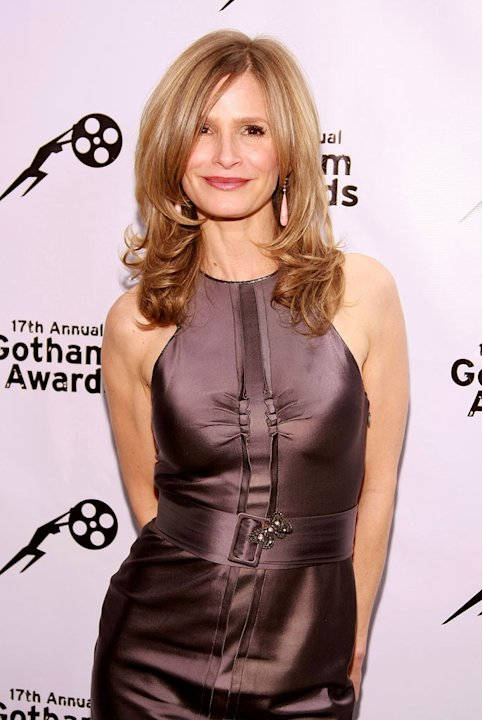Kyra Sedgwick poses backstage during the 17th Annual Gotham Awards presented by IFP at Steiner Studios on November 27, 2007 in Brooklyn, NY.