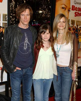 Premiere: Kevin Bacon and Kyra Sedgwick with daughter Sosie at the LA premiere of MGM's Beauty Shop - 3/24/2005