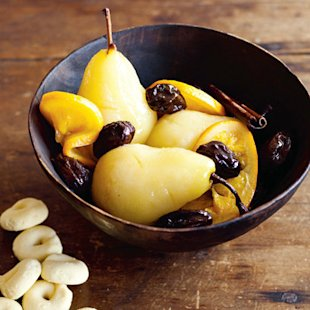 Poached Pears: Recipe