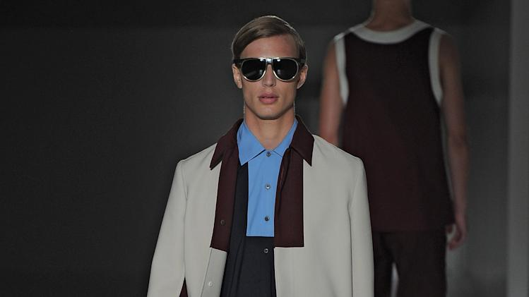 Prada - Mens Spring Summer 2013 Runway - Milan Menswear Fashion Week