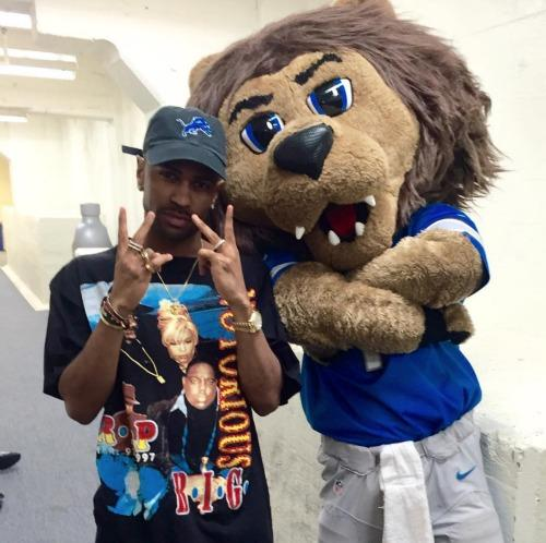Watch Big Sean's Inspiring Performance at Halftime of the Detroit Lions Thanksgiving Game