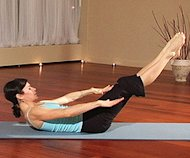 Pilates Exercise Video class, Image by myyogaonline via Flickr