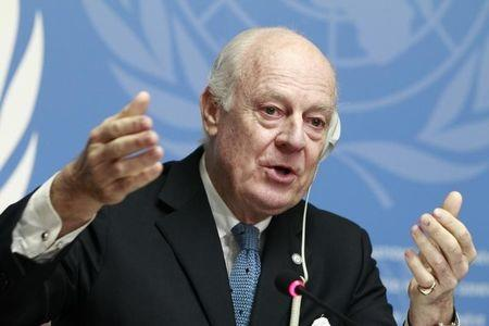U.N. invites Syrian parties to Geneva peace talks in May