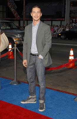 Shia LaBeouf at the Hollywood premiere of Paramount Pictures' Hot Rod