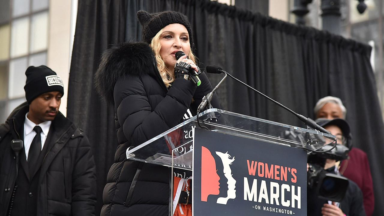Madonna Clarifies Her Comments About Blowing Up White House Given During Women's March Speech