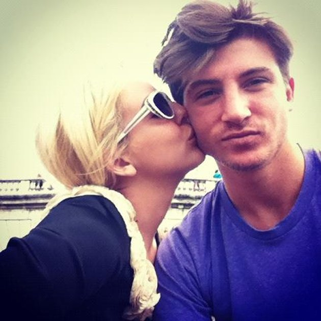 Lydia Bright and Tom Kilbey in Paris