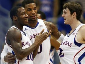 Robinson leads No. 4 Kansas past Texas Tech 83-50