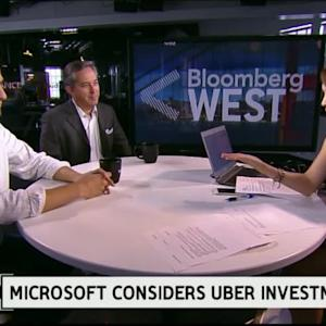 Why Would Microsoft Invest in Uber?