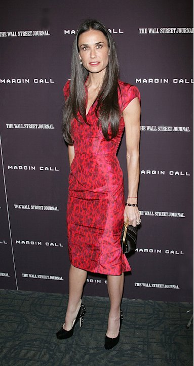 Margin Call NY Premiere 2011 Demi Moore