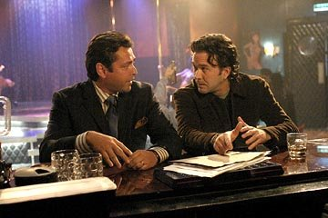 "Angus MacFadyen as Roy Bremmer and Timothy Hutton as J.T. Sci-Fi Network's ""Five Days to Midnight"""