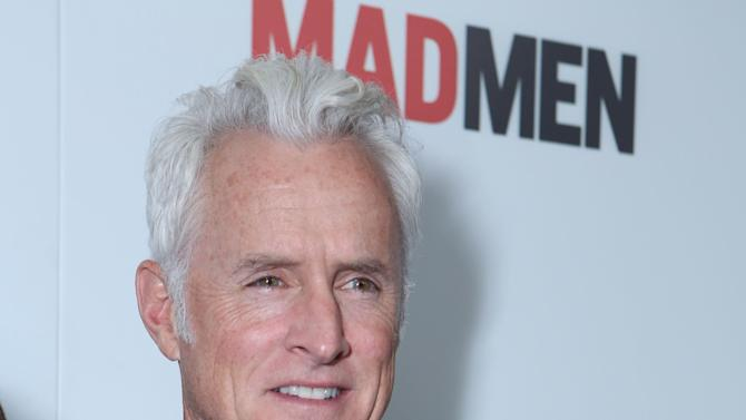 John Slattery at the AMC Season 6 Premiere of Mad Men , on Wednesday, March, 20, 2013 in Los Angeles. (Photo by Alexandra Wyman/Invision for AMC/AP Images)