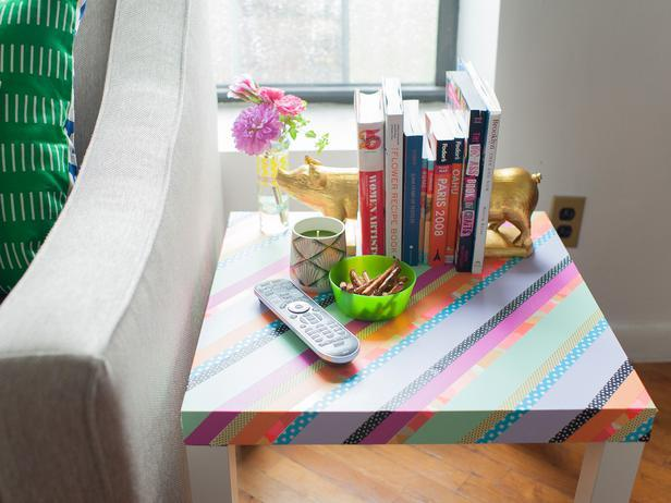 Give Personality to a Plain Table