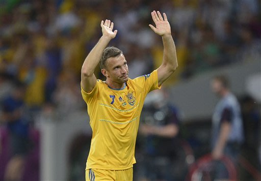 EURO 2012: Ukraine beats Sweden 2-1