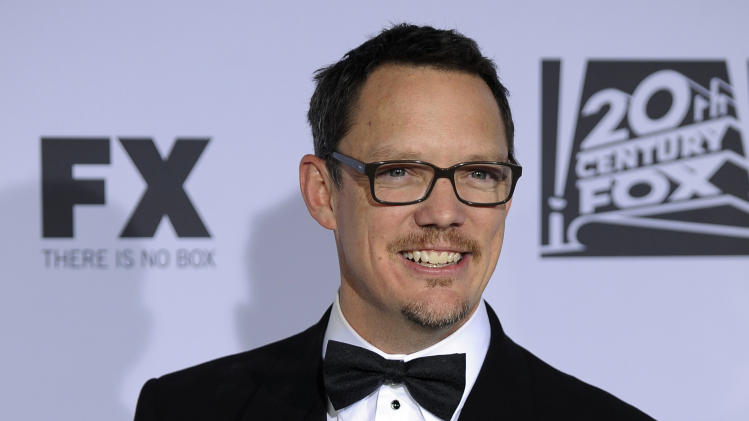"FILE - In this Jan. 15, 2012 file photo, Matthew Lillard arrives at the 2012 FOX Golden Globe After Party at the Beverly Hilton in Los Angeles.  Lillard's first directing feature, ""Fat Kid Rules the World,"" releases Oct. 5, 2012. (AP Photo/Chris Pizzello, File)"