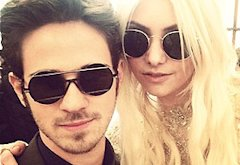 Connor Paolo and Taylor Momsen   | Photo Credits: Kelly Rutherford/Twitter