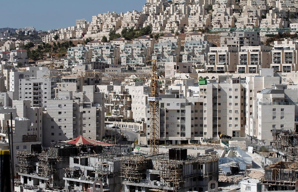 Israel to build 450 new West Bank settler homes: NGO