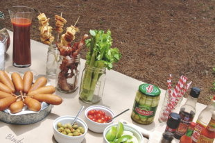 Tailgating Tablescape
