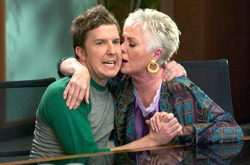 Nick Swardson and Shirley Jones in 20th Century Fox's Grandma's Boy