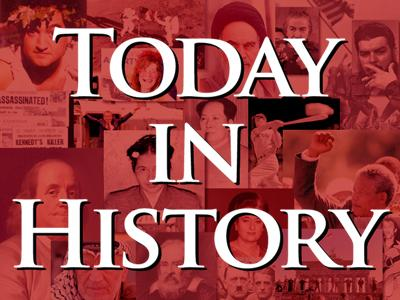 Today in History for May 25th