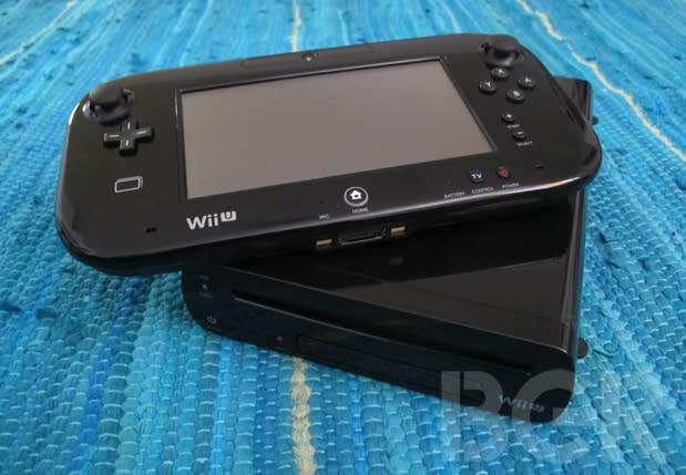 The Wii U uses less than half the power of the Xbox 360 and the PS3