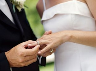 Size and shape are the first things to consider when choosing a wedding ring