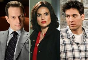 Josh Charles, Lana Parrilla and Josh Radnor | Photo Credits: David Giesbrecht/CBS; ABC; Sonja Flemming/CBS