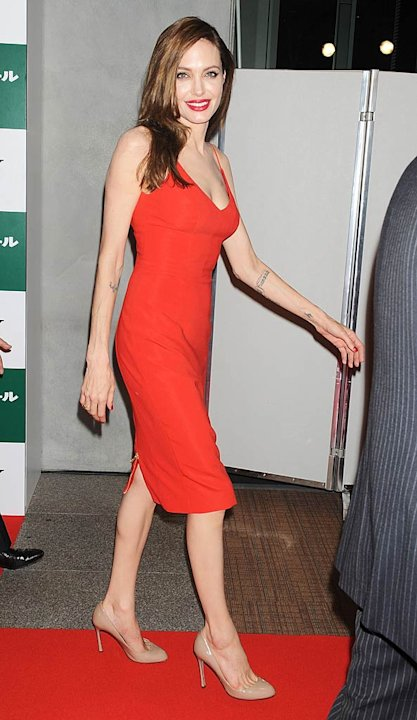 Angelina Jolie Money Ball Japan Premiere