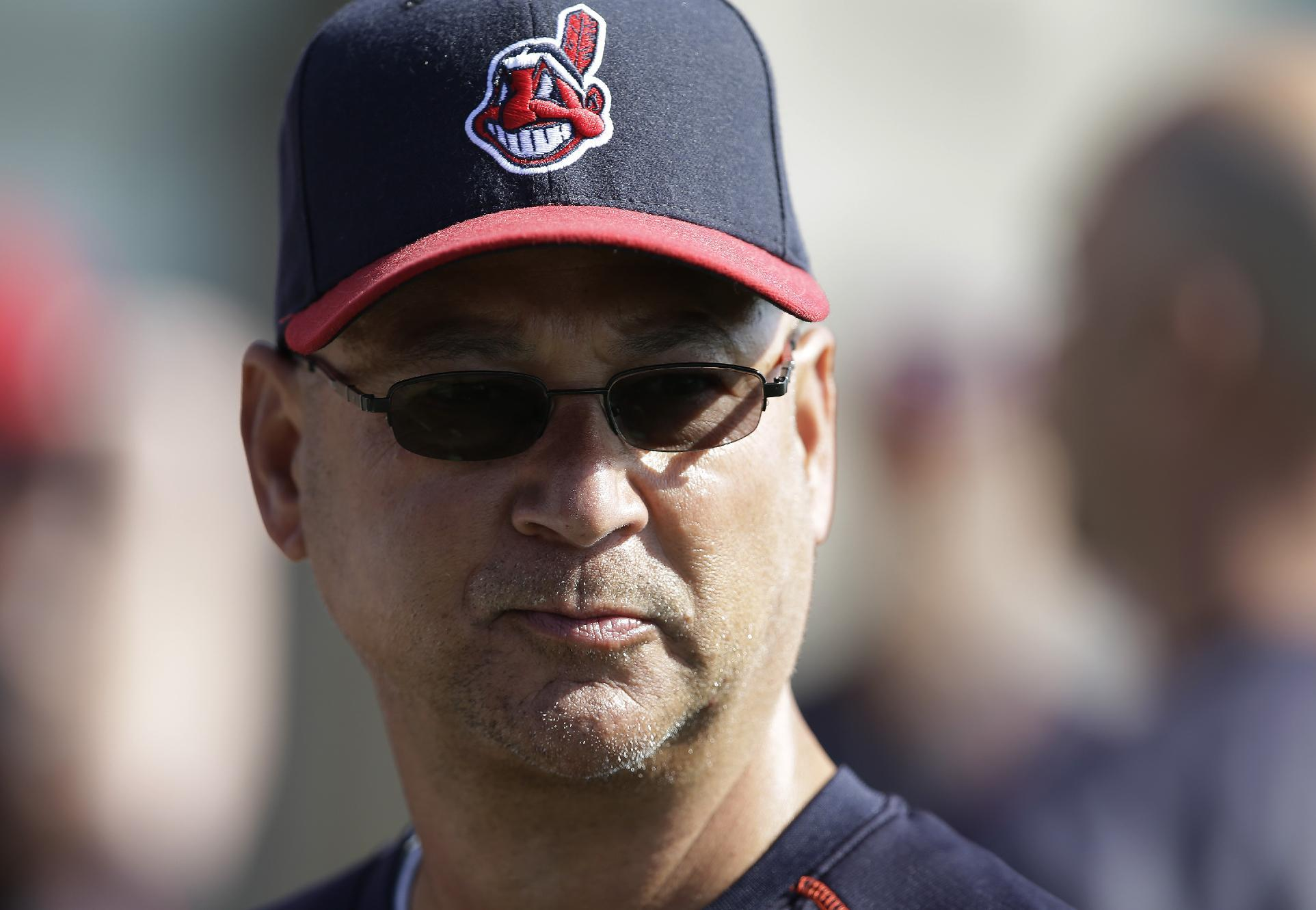 Motor mishap: Indians manager Francona's scooter wrecked