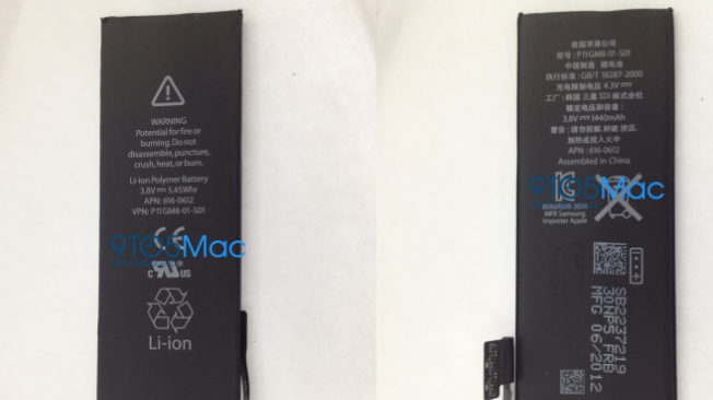 Leaked photos of iPhone 5 battery raise questions over battery life