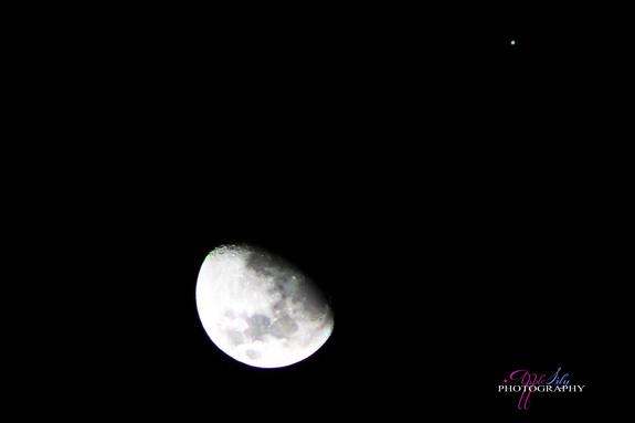 Close Encounter of Jupiter and Moon Wows Stargazers