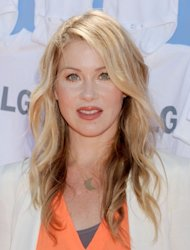 Christina Applegate arrives as LG presents &#39;20 Magic Minutes..A Family Celebration&#39; at The Garden at Ascona Mansion in Los Angeles on June 23, 2012 -- Getty Premium
