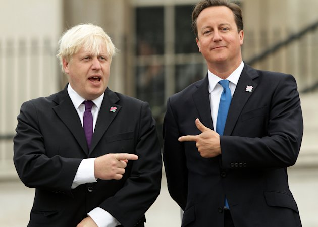 Candidate: Boris Johnson is seen as a leading candidate to challenge David Cameron at the top of the Tory party (PA)
