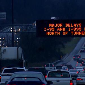 Flights canceled, highways clogged due to winter storm