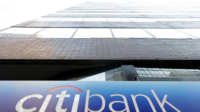 This Wednesday, Dec. 19, 2012 photo shows a Citibank in Philadelphia. U.S. banks are closing the year with the strongest profits since 2006 and fewer failures than at any time since the financial crisis struck in 2008. They're helping support an economy slowed by high unemployment, flat pay, sluggish manufacturing and anxious consumers. (AP Photo/Matt Rourke)