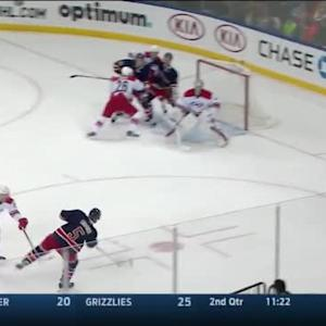 Cam Ward Save on Dan Girardi (19:09/2nd)
