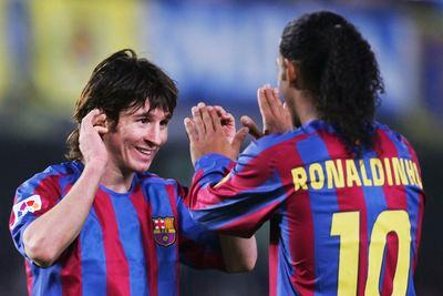 10 years of Lionel Messi goals