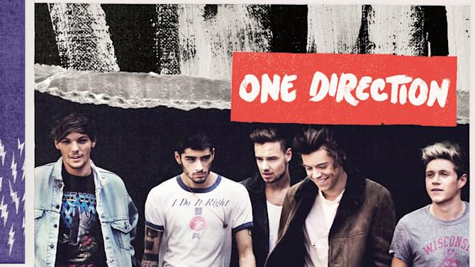 "This CD cover image released by Sony shows ""Midnight Memories,"" by One Direction. (AP Photo/Sony)"