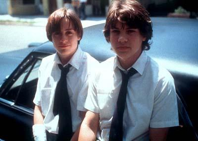 Kieran Culkin and Emile Hirsch in ThinkFilm's The Dangerous Lives of Altar Boys