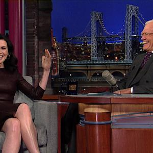 David Letterman - Julianna Margulies on Pretty-Boy George Clooney