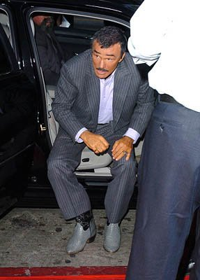 Burt Reynolds at the Hollywood premiere of Paramount Pictures' The Longest Yard