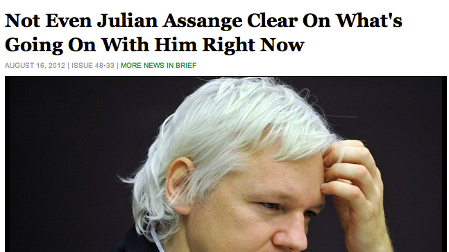 Julian Assange's Legal Battle Is Back to Square One