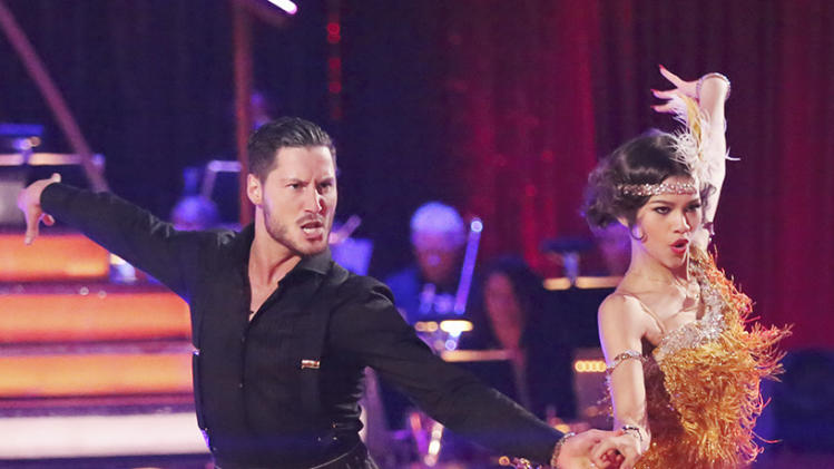 Val Chmerkovskiy and Zendaya (3/25/13)