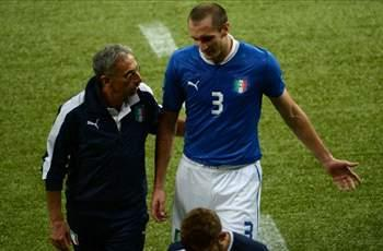 Italy defender Chiellini ruled out of Brazil game