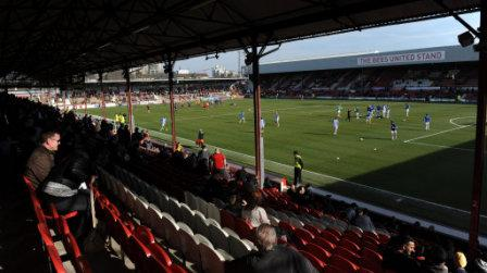 Soccer - Sky Bet League One - Brentford v Bradford City - Griffin Park