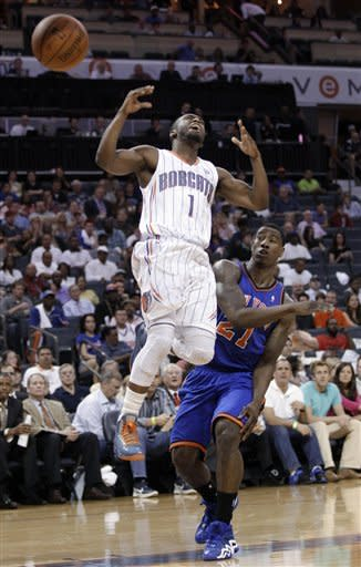 Bobcats fall to Knicks, set NBA mark for futility