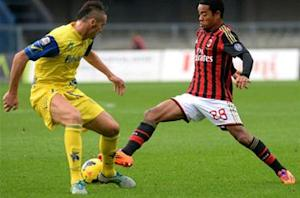 Chievo 0-0 AC Milan: Two sent off in bore draw