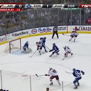 Jonathan Bernier Save on Martin Hanzal (16:55/2nd)
